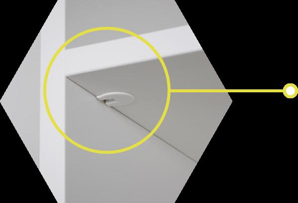 Shelf Locking System