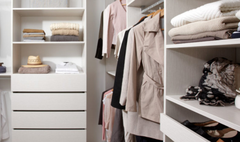 An Image of The Wardrobe Company's Moderno Collection Storage Solutions