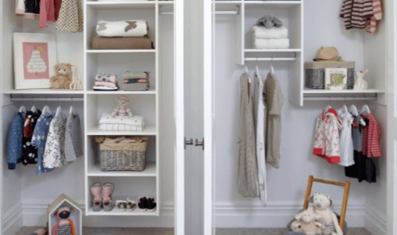 An Image Of The Wardrobe Company's Prima Collection Storage Solutions