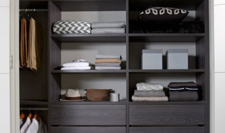An Image of The Wardrobe Company's Ultimo Collection Storage Solutions